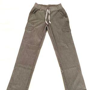 FIGS 'Avadi' scrub pants, GRAPHITE. Price is firm.